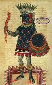 Vajra in Mayan Art