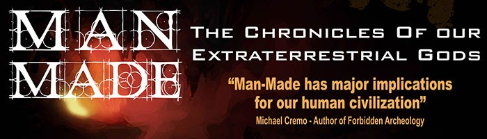 Man-Made: The Chronicles Of Our Extraterrestrial Gods