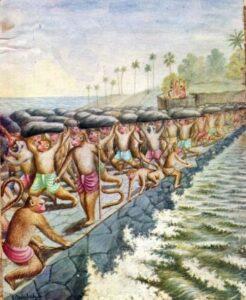 Rama's Bridge - Ramayana